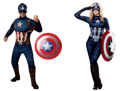 Halloween Costume Captains America 400