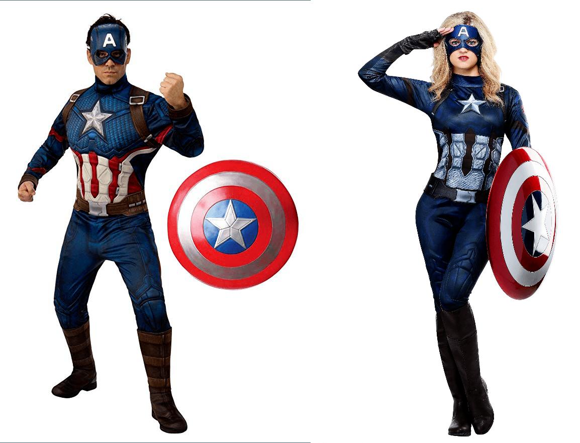 Halloween Costume Captains America