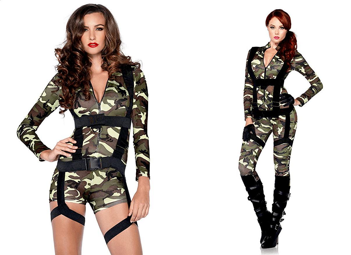 Halloween Costume Commando and Paratrooper