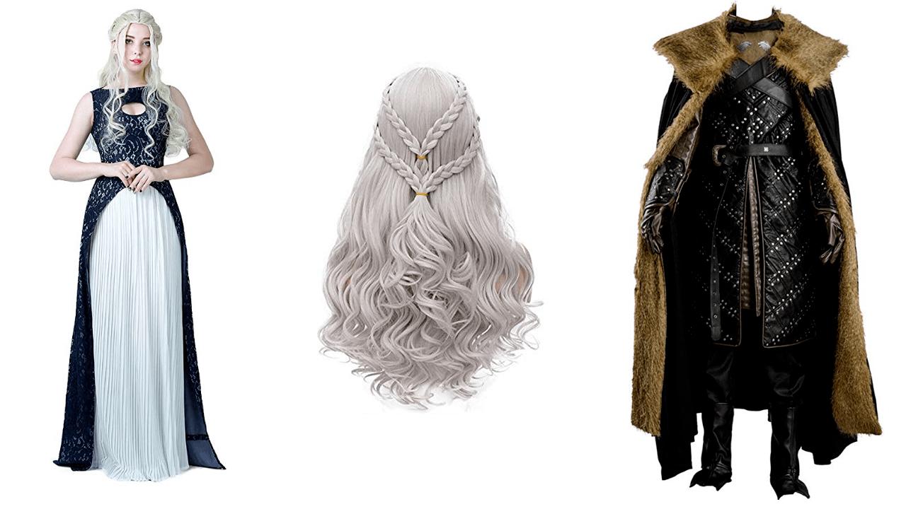 Halloween Costume Daenerys and Jon Snow
