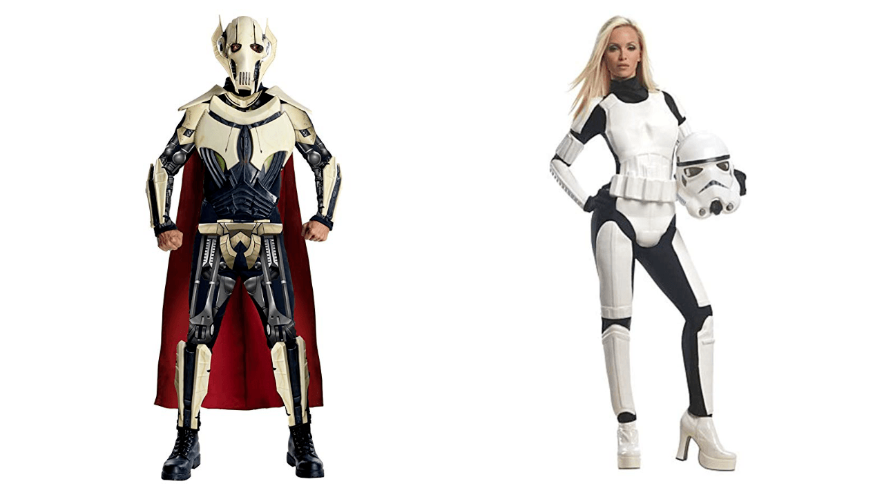 Halloween Costumes for Couples Star Wars