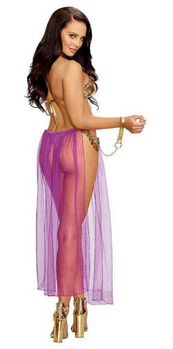 Harem Slave Girl Back