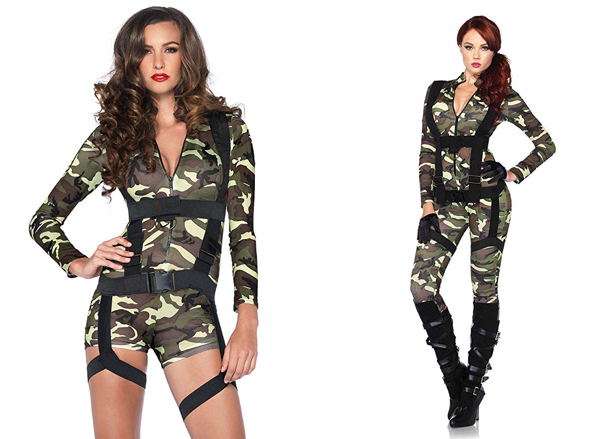 Halloween Costume for Couples Commando and Paratrooper