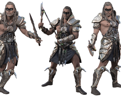 Halloween Costumes for Men Barbarian Warrior