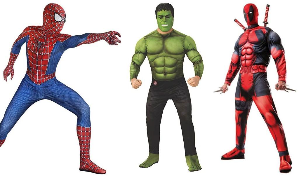 Halloween Costumes for Men Super Heroes